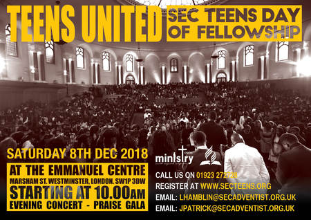 Adventist Youth - South England YM Events